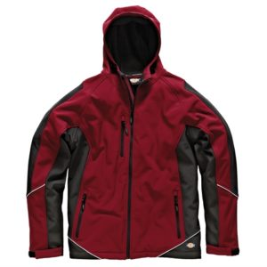 Two Tone Softshell Red/Black Jacket - XL (48-50in)