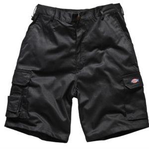 Redhawk Cargo Shorts Black Waist 30in