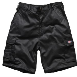 Redhawk Cargo Shorts Black Waist 38in