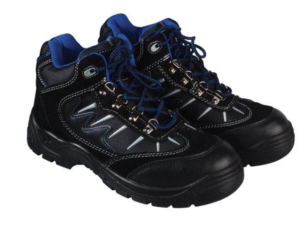 Storm Super Safety Hiker Black/Blue Boots UK 12 Euro 47