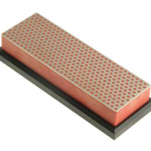 Diamond Whetstone 150mm Plastic Case Red 600 Grit Fine