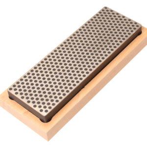 Diamond Whetstone 150mm Wooden Box Black 220 Grit Extra Coarse