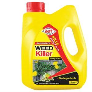 Glyphosate Weedkiller RTU 3 Litre