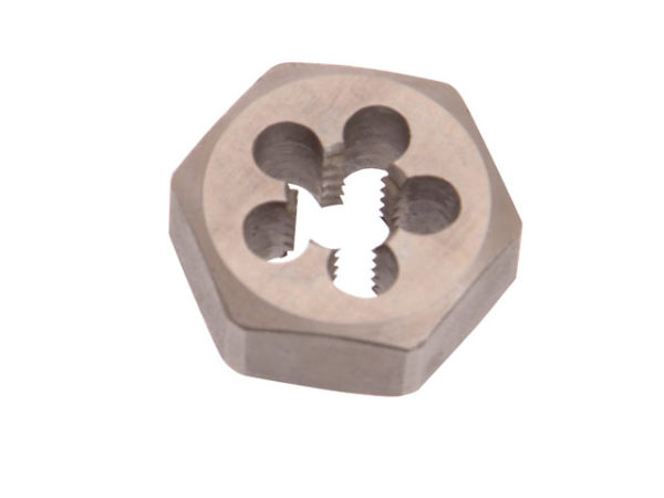 F302 HSS Die Nuts Metric Coarse Thread 8.0 x 1.25 Pitch