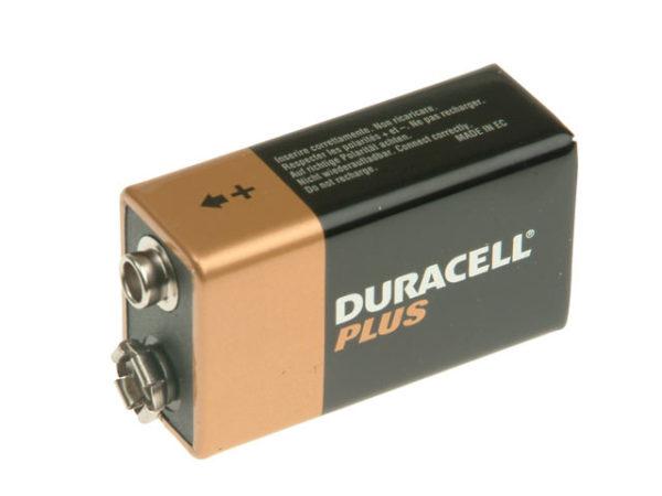 9V Cell Plus Power Battery Pack of 1 MN1604/6LR6