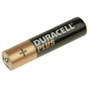AAA Cell Plus Power Batteries Pack of 4 RO3A/LR0