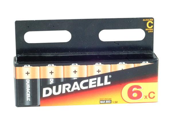 C Cell Plus Power Batteries Pack of 6 R14B/LR14