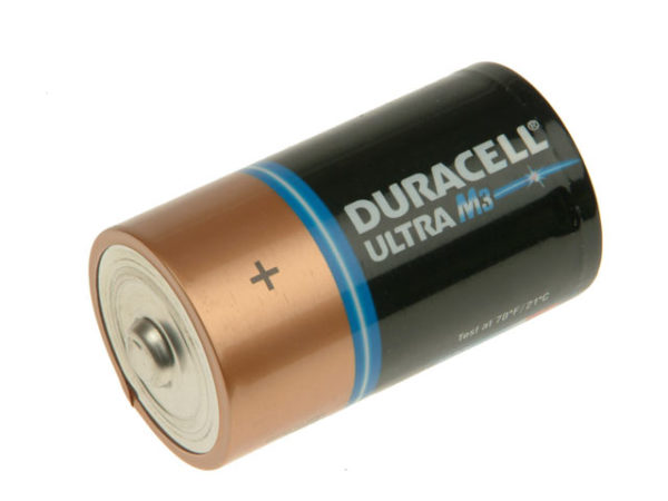 D Cell Ultra Power Batteries Pack of 2