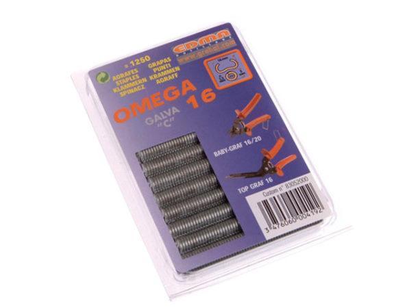 Galvanised Steel Hog Ring Omega 16 (250)