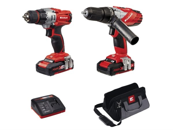 Power X-Change Combi & Drill Driver Twin Pack 18V 2 x 1.5Ah Li-ion