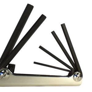 Hexagon Key Fold Up Set of 6 Metric (2.5-10mm)