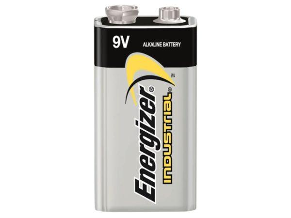 9V Industrial Batteries Pack of 12