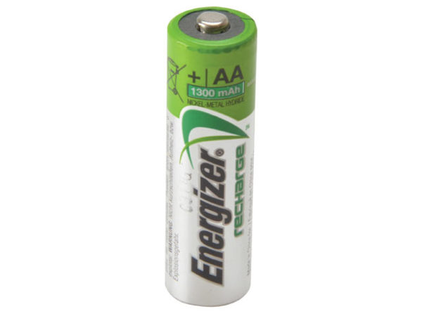 AA Rechargeable Universal Batteries 1300mAh Pack of 4