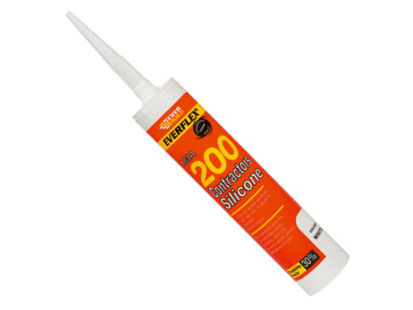 Contractors Silicone Sealant 295ml Translucent 200