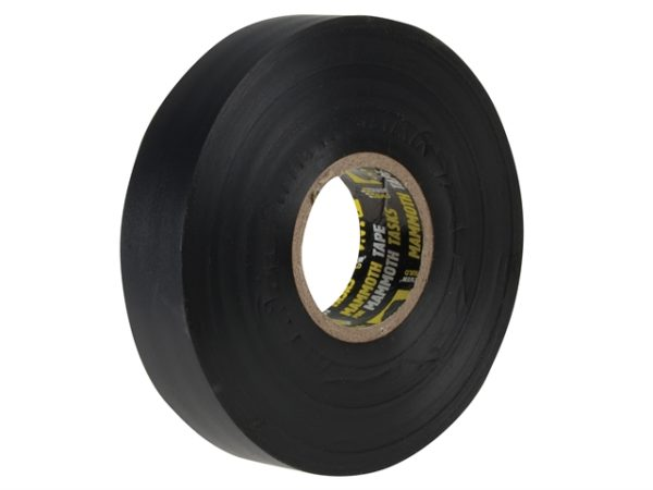 Electrical Insulation Tape Black 19mm x 33m