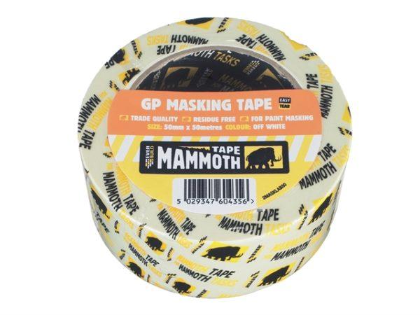 Retail Masking Tape 50mm x 50m