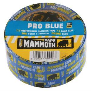 Pro Blue Masking Tape 25mm x 33m