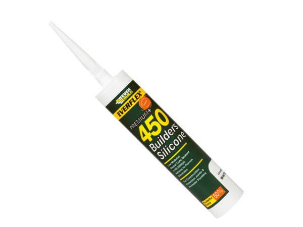 EVERFLEX 450 Builders Silicone Sealant Grey 310ml
