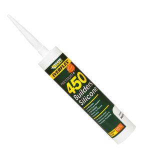 EVERFLEX 450 Builders Silicone Sealant White 310ml