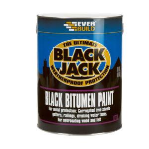 Black Jack® 901 Black Bitumen Paint 1 litre
