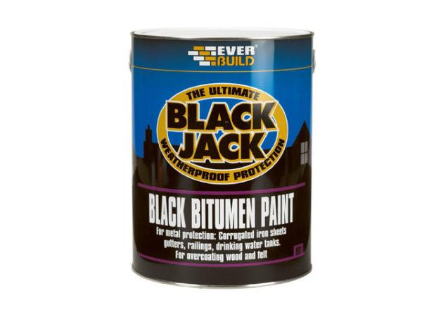 Black Jack® 901 Black Bitumen Paint 5 litre