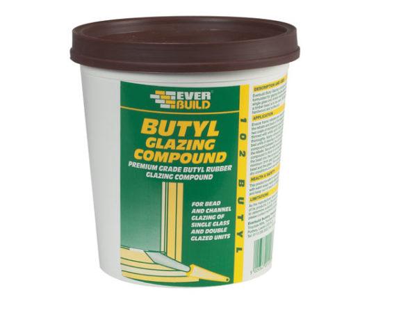 102 Butyl Glazing Compound Brown 2kg