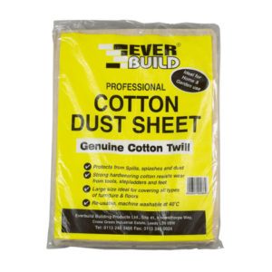 Cotton Dust Sheet 3.6 x 2.7m