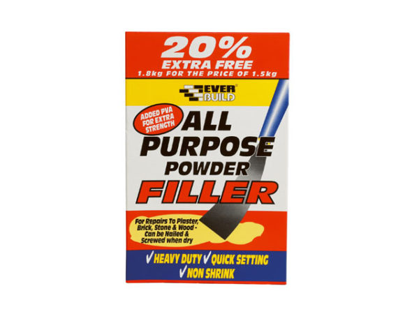 All Purpose Powder Filler 1.5kg + 20% Free