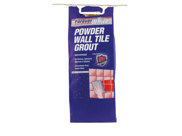 Forever White Powder Wall Tile Grout 3kg