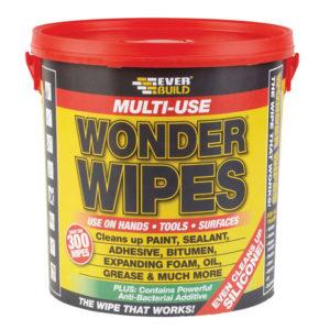 Giant Wonder Wipes Tub of 300