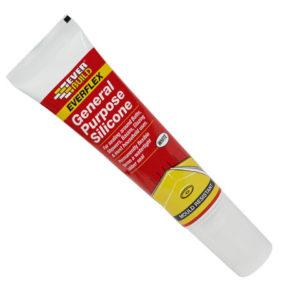 General Purpose Easi Squeeze Silicone Sealant White 80ml