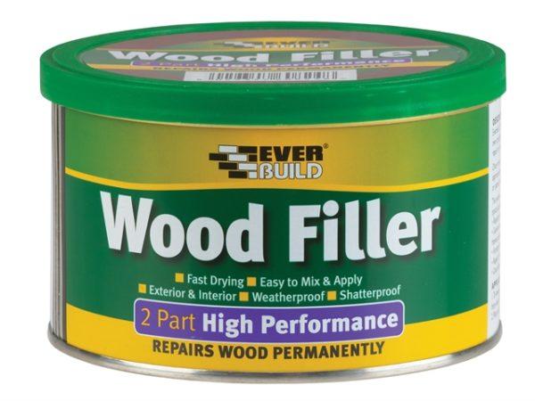 Wood Filler High Performance 2 Part Oak 500g