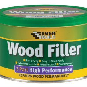 Wood Filler High Performance 2 Part White 500g