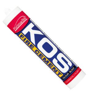 KOS Fire Cement Black Cartridge C3 300ml