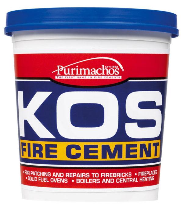 KOS Fire Cement Black 1kg