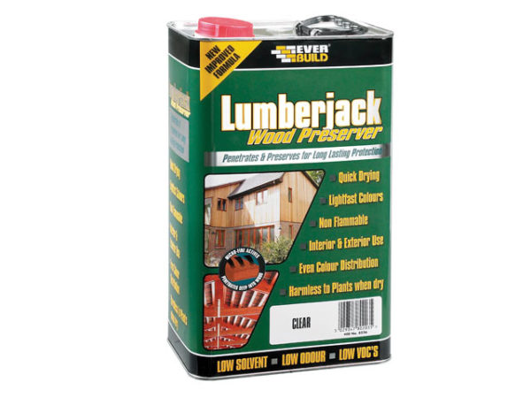 Wood Preserver Dark Oak 5 litre