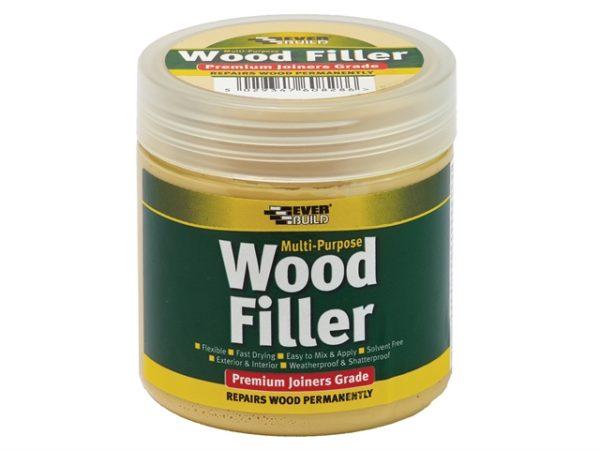 Multi-Purpose Premium Joiners Grade Wood Filler Light Stainable 250ml