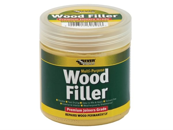 Multi-Purpose Premium Joiners Grade Wood Filler Medium Stainable 250ml