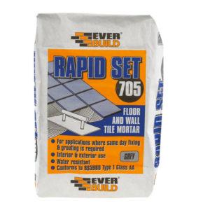 Rapid Set Tile Mortar 10kg