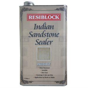 Resiblock Indian Sandstone Sealers Invisible 5 litre