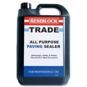 Resiblock All Purpose Paving Sealer 5 litre (Trade)