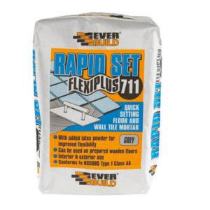 Rapid Set Flexiplus Tile Adhesive 10kg