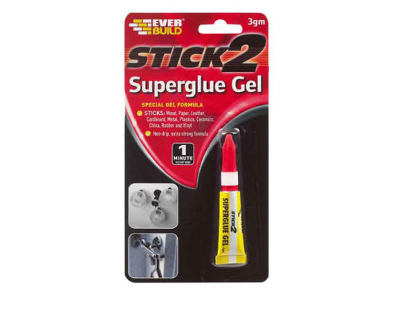 STICK2® Superglue Gel 3g