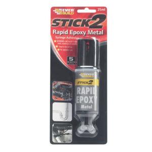 STICK2® Rapid Epoxy Metal Syringe 24ml