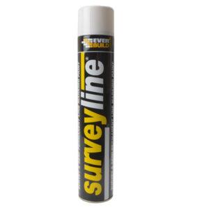 Surveyline Marker Spray White 700ml