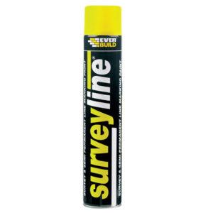 Surveyline Marker Spray Yellow 700ml
