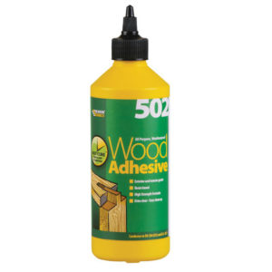502 All Purpose Weatherproof Wood Adhesive 500ml