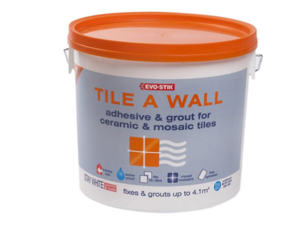 Mould Resistant Wall Tile Adhesive & Grout 2.5 Litre