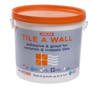 Mould Resistant Wall Tile Adhesive & Grout 5 Litre