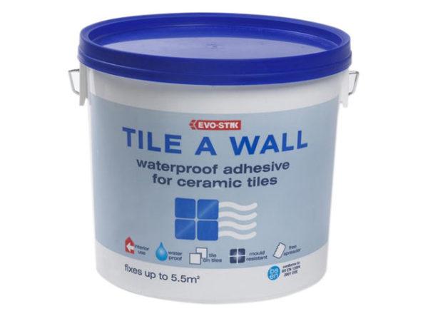 Waterproof Wall Tile Adhesive 2.5 Litre
